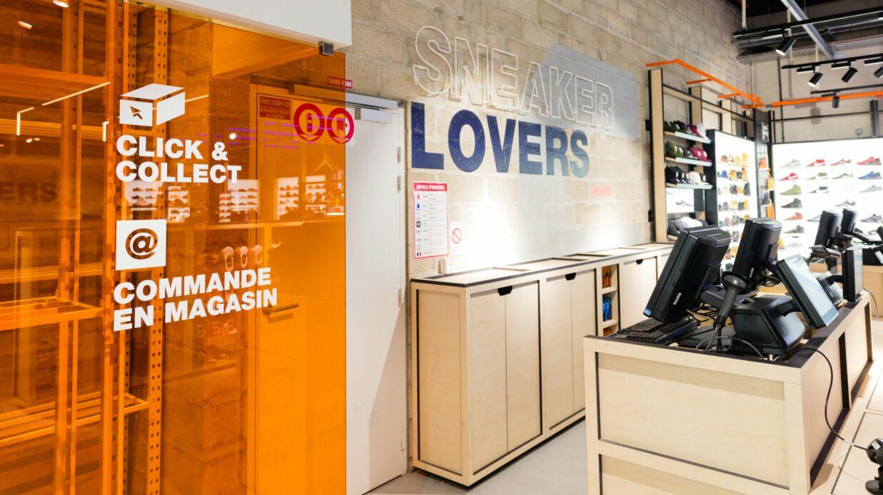 Courir inaugure son concept store wood au Forum des Halles à Paris