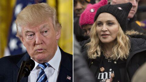 Donald Trump réplique à Madonna: «Honnêtement, elle me dégoûte»