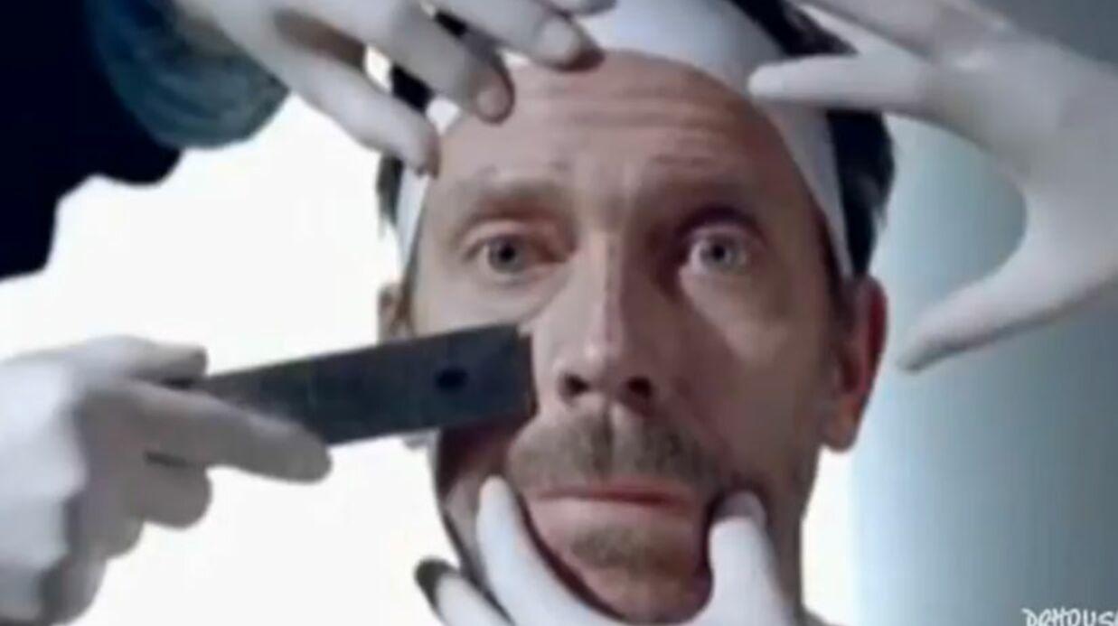 VIDEO Hugh Laurie: une pub marrante pour un anti-rides