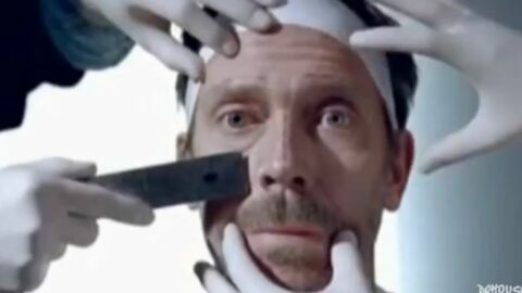 VIDEO Hugh Laurie : une pub marrante pour un anti-rides