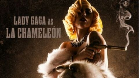 PHOTO Lady Gaga bientôt au cinéma dans Machete Kills