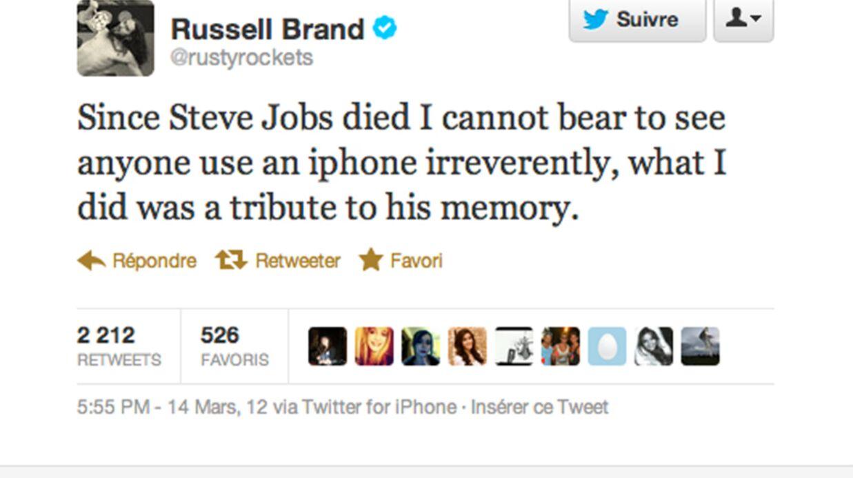 Russell Brand condamné à 20 heures de travaux d'intérêt général