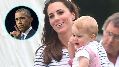 Le cadeau un peu fou de Barack Obama au prince George