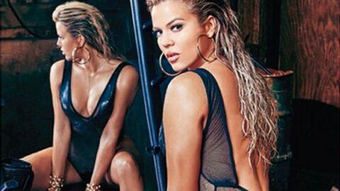 PHOTOS Khloe Kardashian: la sœur de Kim montre aussi ses fesses en une d'un magazine