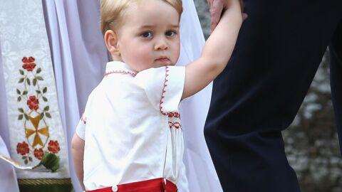 Kate Middleton raconte que le prince George croit avoir déjà trois ans