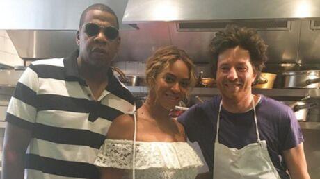 PHOTO Jean Imbert prend la pose dans son restaurant avec Beyoncé et Jay Z