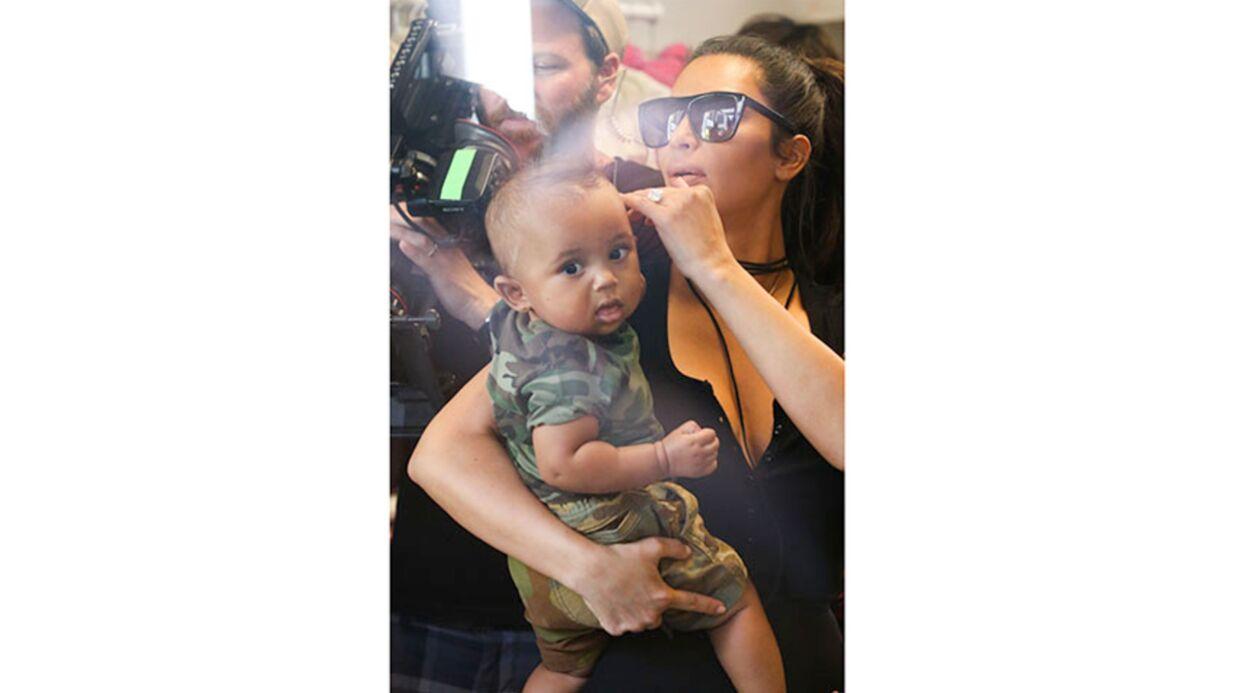 PHOTOS Kim Kardashian: son fils Saint est trop craquant!