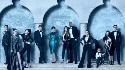 PHOTOS Les Kardashian: une carte de vœux qui fait peur