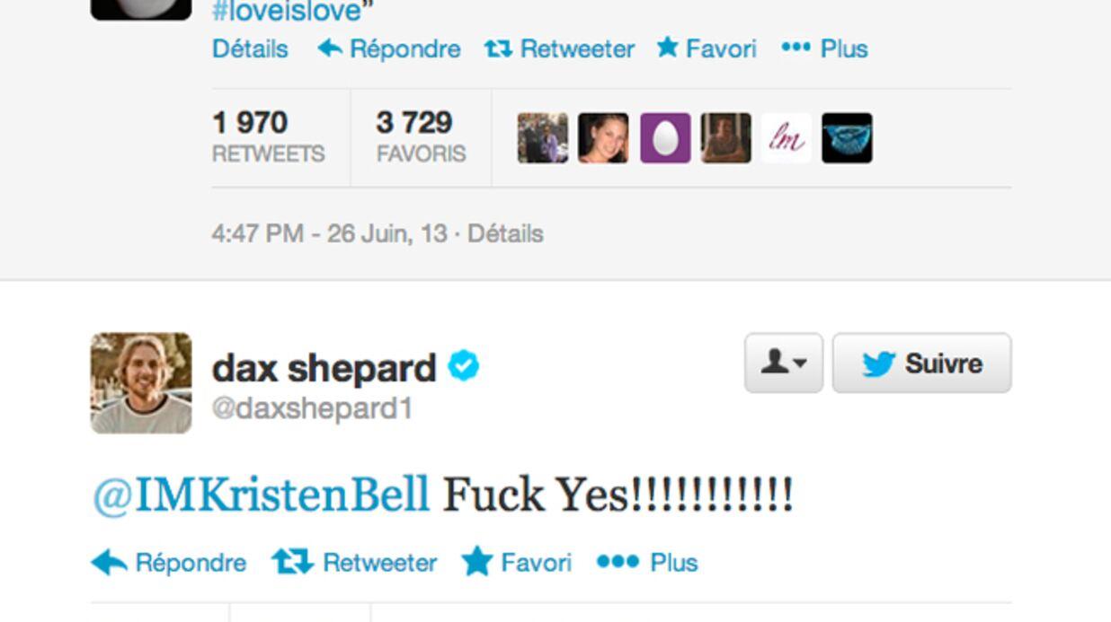 Kristen Bell (Veronica Mars) a demandé la main de Dax Shepard