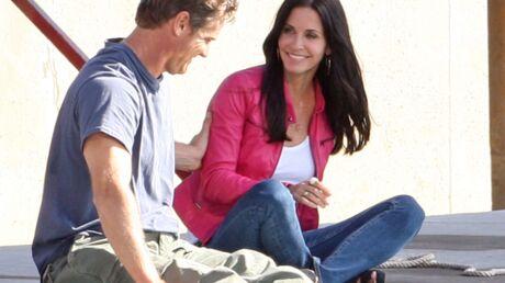 Courteney Cox en couple avec Brian Von Holt, un acteur de Cougar Town