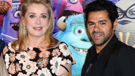 DIAPO Catherine Deneuve et Jamel Debbouze dans la folle ambiance de la Monstres Academy