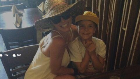 PHOTO Britney Spears heureuse avec son fils sur Instagram