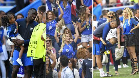 Euro 2016: de belles scènes de bonheur entre les Bleus et leurs proches après la victoire contre l'Irlande