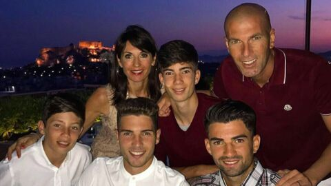 PHOTO Zinédine Zidane: ses fils dévoilent leur impressionnante musculature sur Instagram