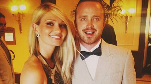 DIAPO Le mariage d'Aaron Paul, alias Jesse dans Breaking Bad