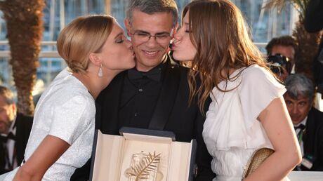 DIAPO Festival de Cannes: des lauréats et des bisous