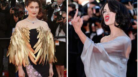DIAPO Cannes: Laetitia Casta surprenante, Asia Argento vulgaire