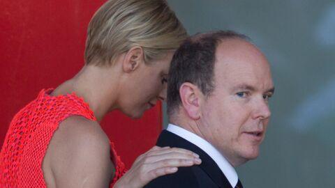 DIAPO Charlène et Albert II radieux et amoureux au Grand prix de Monaco