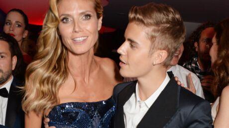 Heidi Klum défend Justin Bieber, il n'a pas eu la main baladeuse avec elle