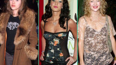DIAPO Les stars à leurs débuts sur le red carpet: des styles qui faisaient peur