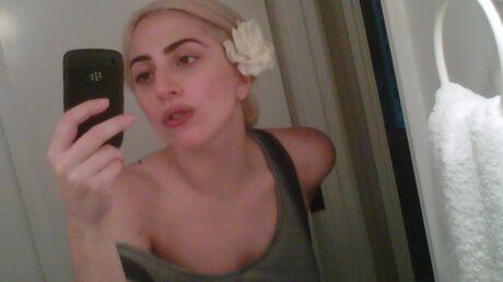 PHOTO Lady Gaga sans artifices