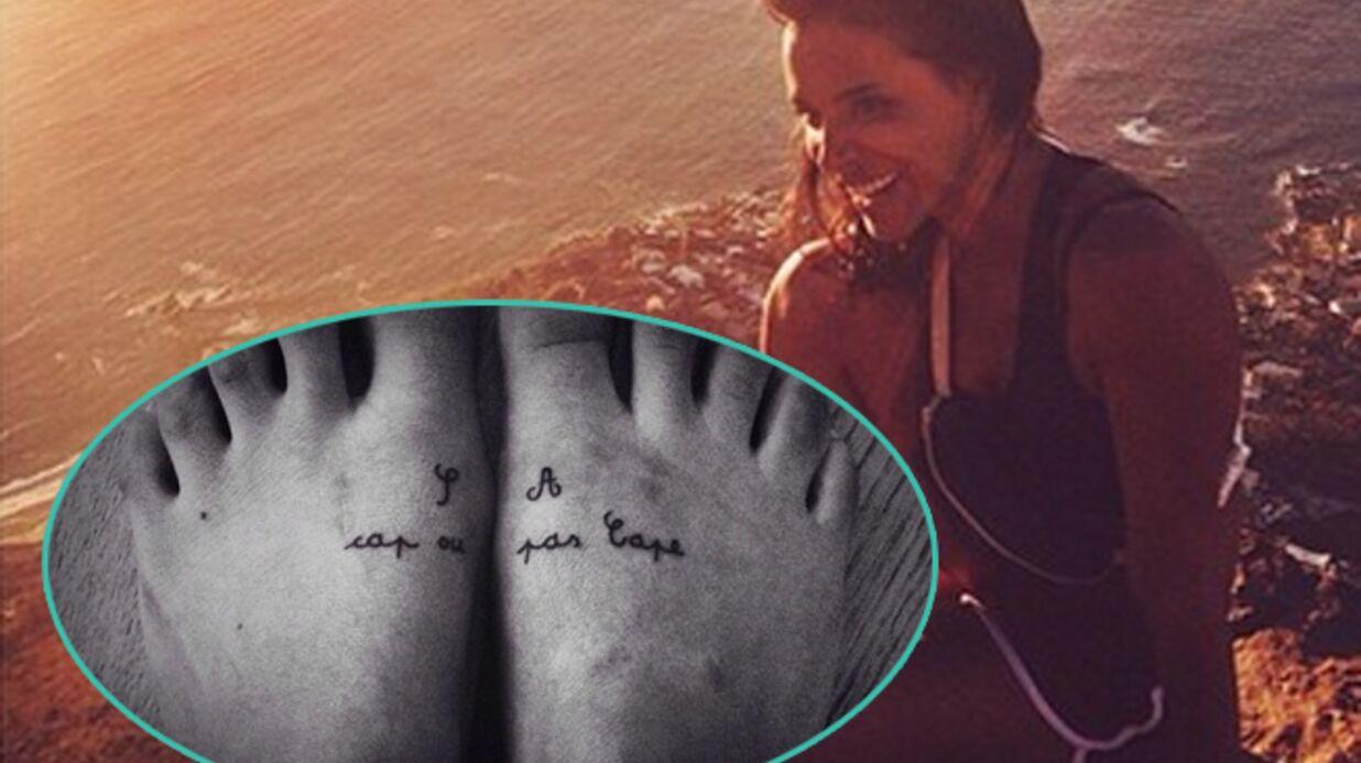 PHOTO Shy'm se fait un tatouage en souvenir de ses vacances en Afrique du Sud