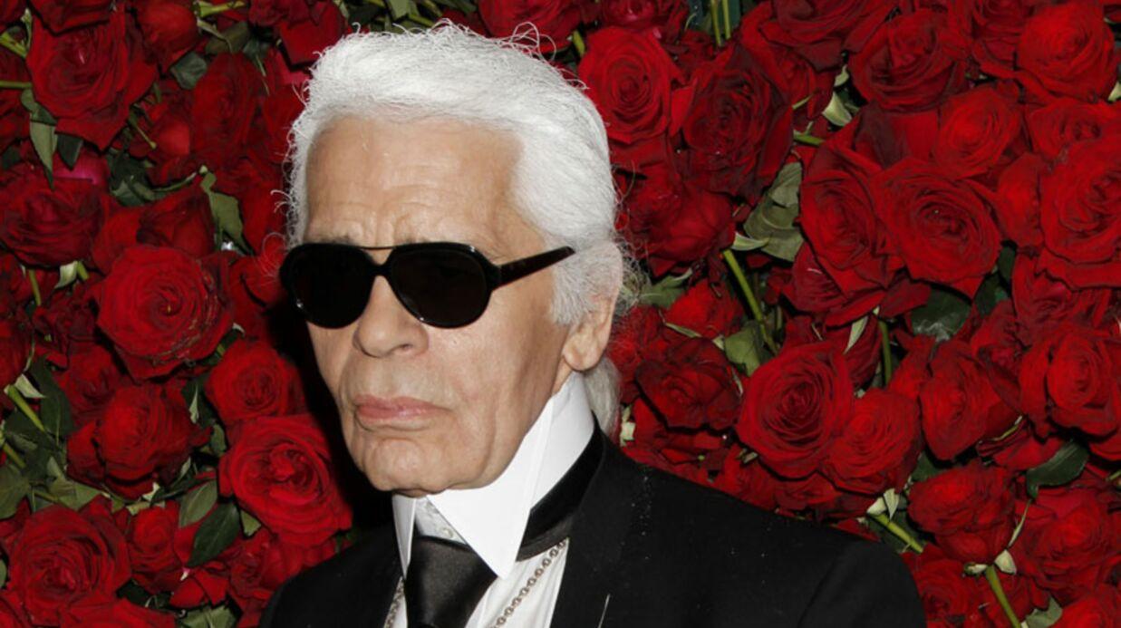 Karl Lagerfeld: rédacteur en chef de Metro le sept février