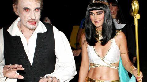 DIAPO Laeticia et Johnny Hallyday se déguisent en Cléopâtre et en vampire