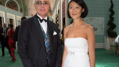 PHOTOS Fleur Pellerin a joliment recyclé sa robe de mariée lors d'un dîner de Gala