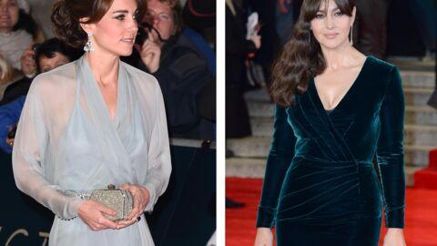 PHOTOS Kate Middleton et Monica Bellucci sublimes pour l'avant-première du nouveau James Bond