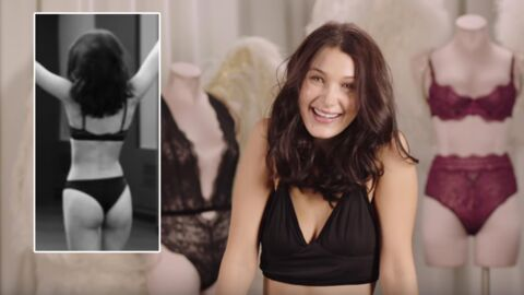Bella Hadid va défiler pour Victoria's Secret à Paris : les coulisses très sexy de son audition