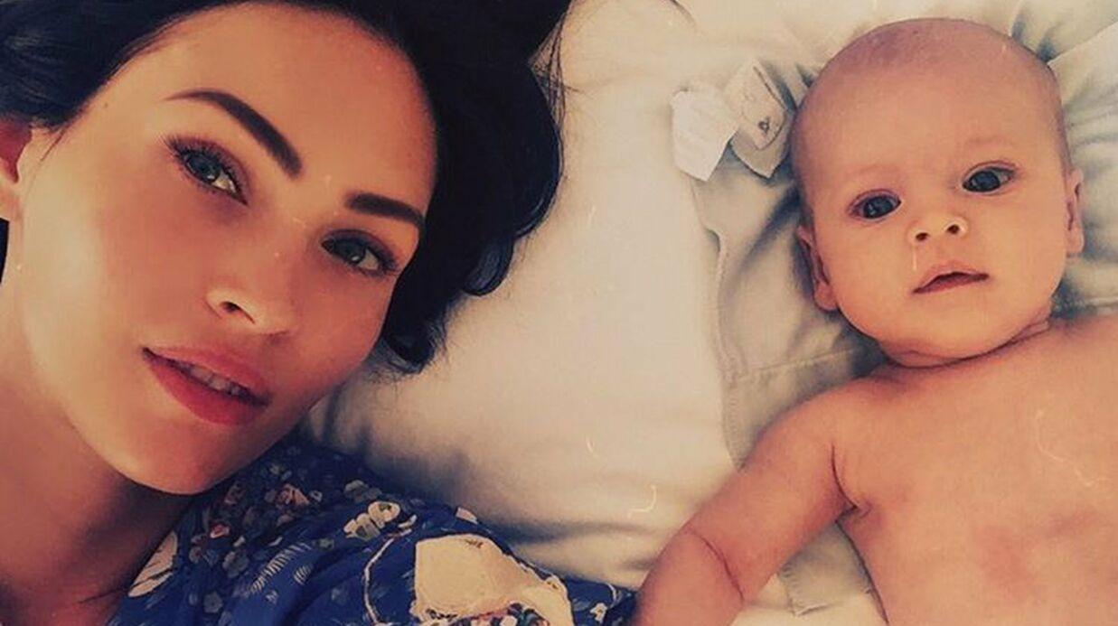 Megan Fox dévoile une photo de son fils (et évidemment, il est magnifique)