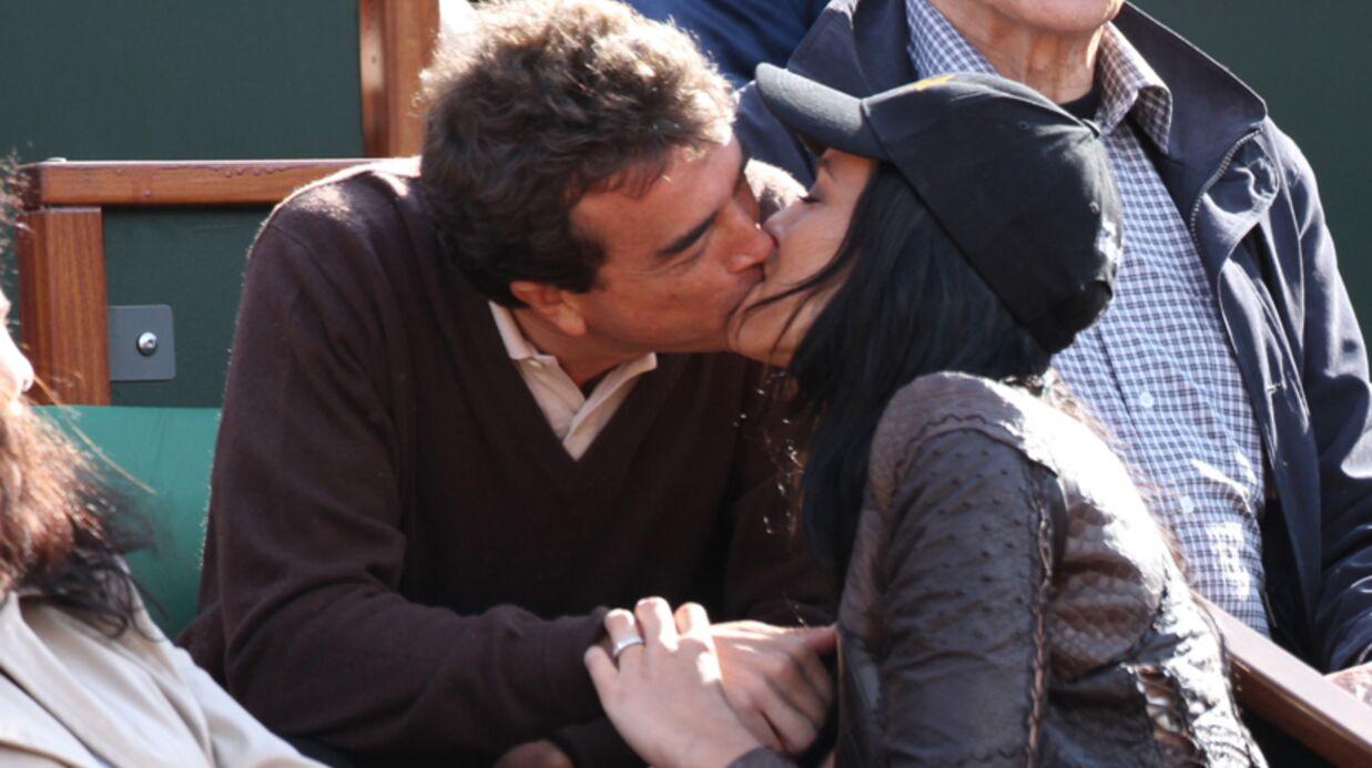 Arnaud Lagardère et Jade Foret: un mariage et un bébé