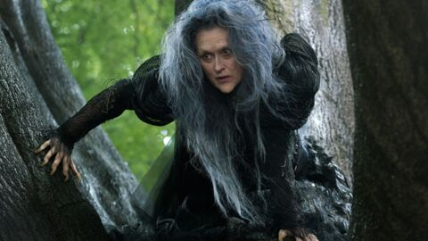 PHOTO L'incroyable transformation de Meryl Streep pour Into the woods