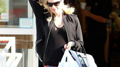 PHOTOS Gwen Stefani montre son ventre de femme enceinte