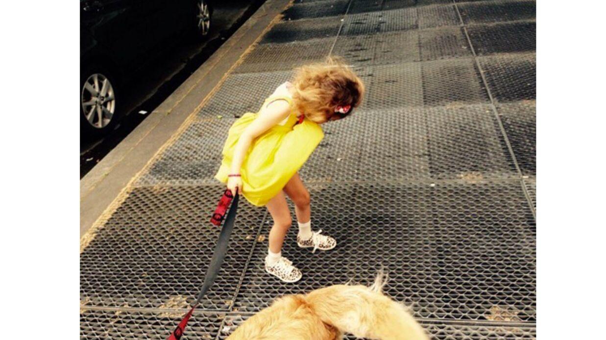 PHOTO Michaël Youn publie une adorable et très rare photo de sa fille Seven