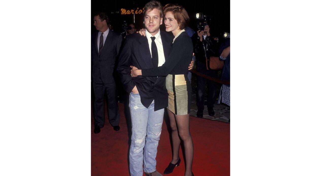 Kierfer Sutherland révèle pourquoi Julia Roberts s'est enfuie (avec un autre) 3 jours avant leur mariage