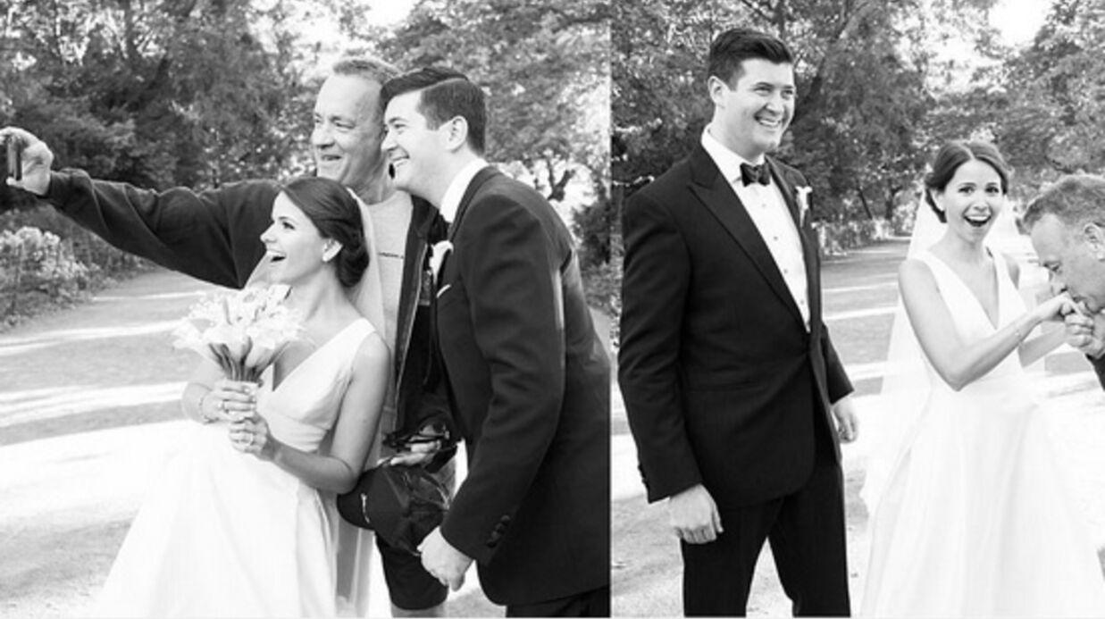 PHOTOS Tom Hanks s'incruste sur des photos de jeunes mariés, le résultat est génial