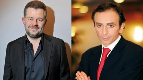 Eric Naulleau et Eric Zemmour dans «Zemmour et Naulleau»