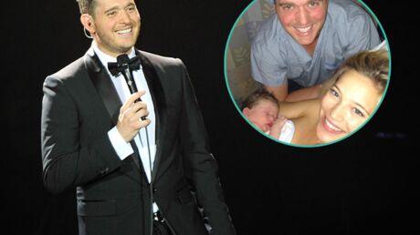 PHOTO Le chanteur Michael Bublé papa d'un petit Noah!
