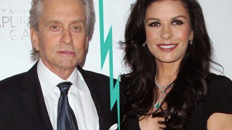 Catherine Zeta-Jones et Michael Douglas se séparent