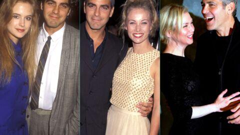 DIAPO George Clooney ENFIN casé: retour en images sur ses nombreuses conquêtes