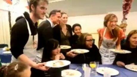 Les candidats de MasterChef cuisinent pour le Secours Populaire
