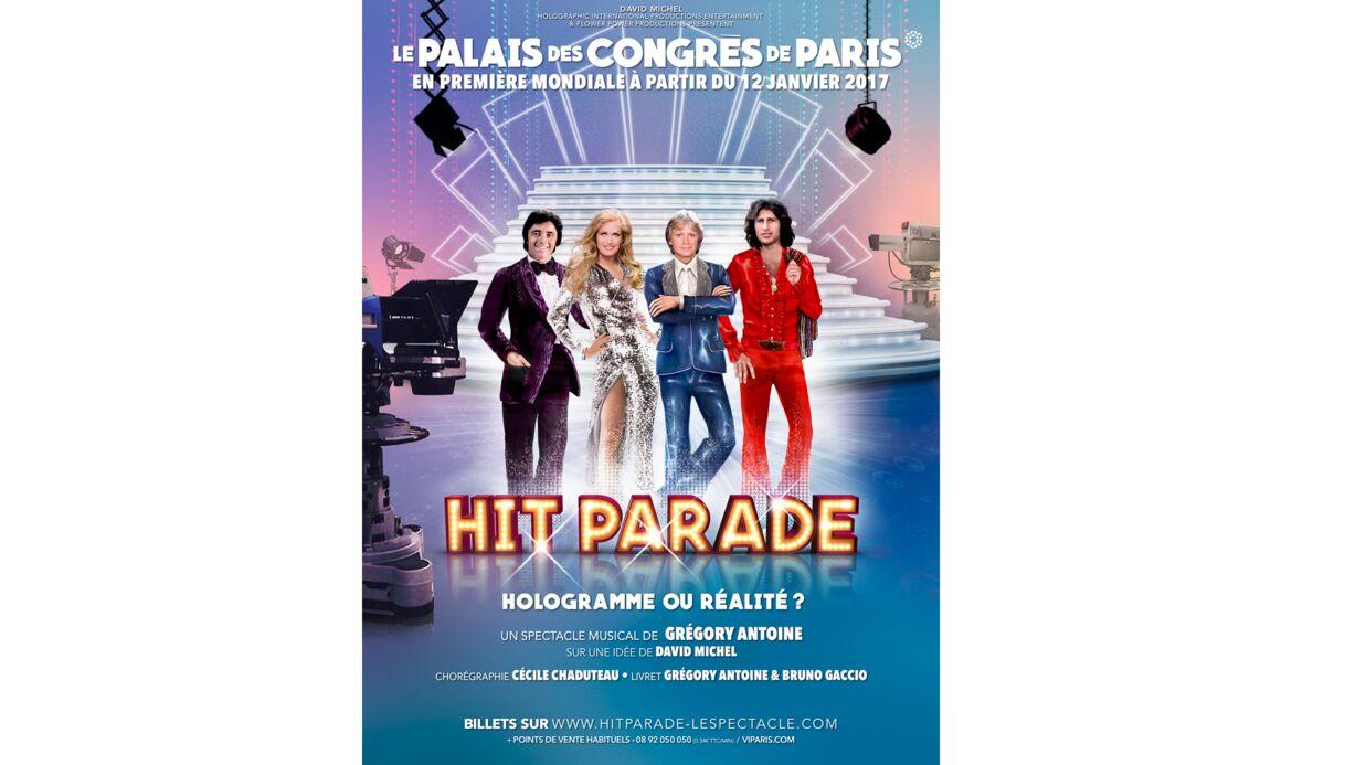 Dalida, Claude François, Mike Brant et Sacha Distel bientôt réunis sur scène en version hologramme
