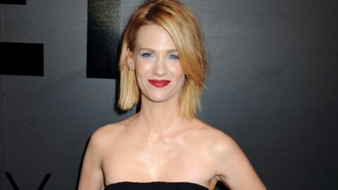Pour éviter le baby blues, January Jones conseille l'ingestion de placenta