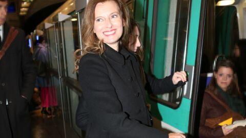 DIAPO Fini la vie de première dame, Valérie Trierweiler rentre du défilé Dior… en métro
