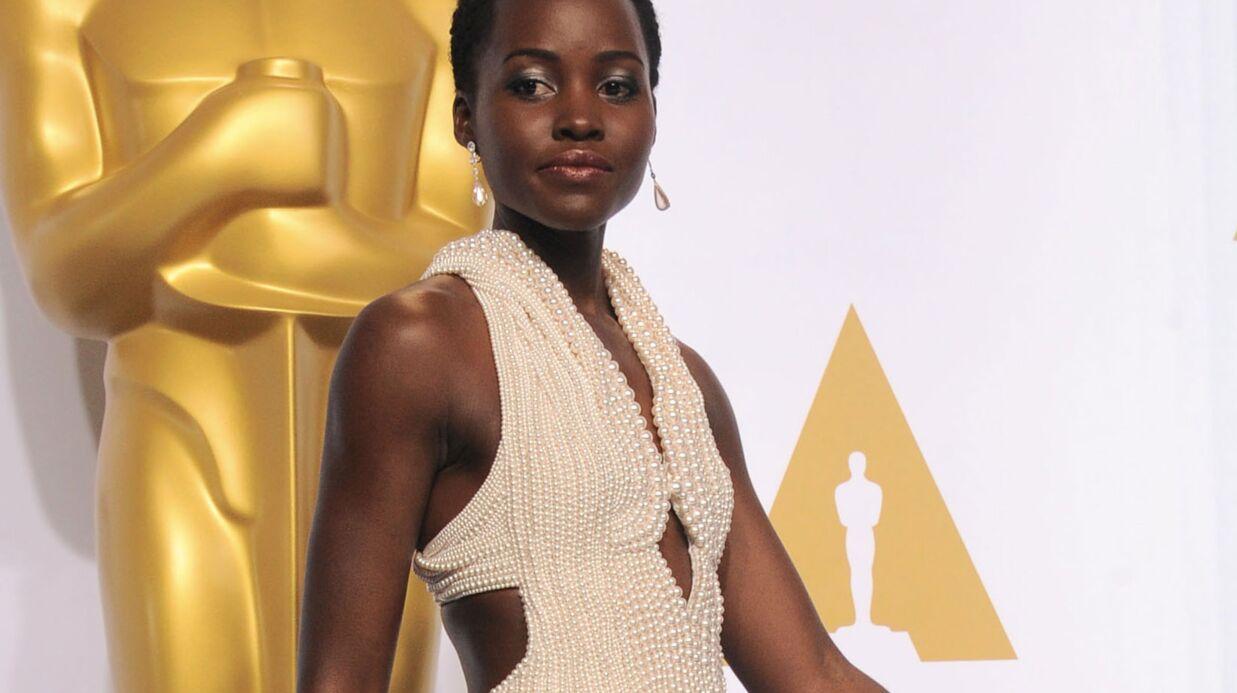 Lupita Nyong'o: sa robe rapportée à l'hôtel dans un sac poubelle!