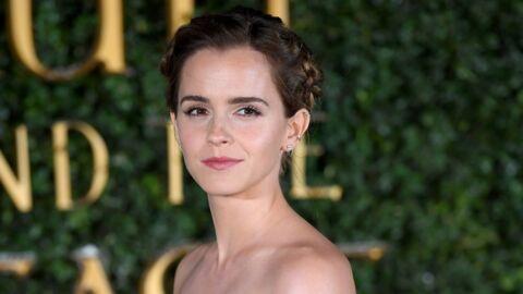 PHOTOS Emma Watson prend la pose seins nus pour Vanity Fair