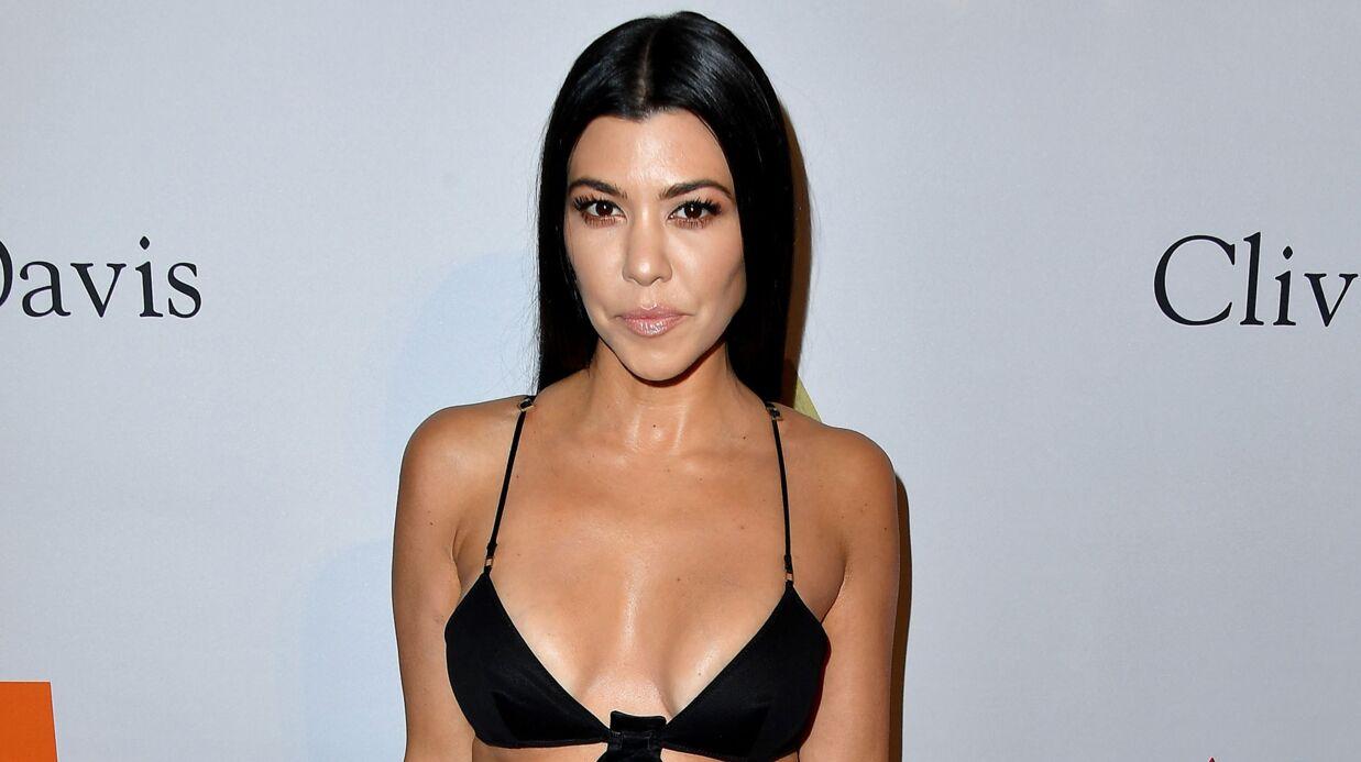 PHOTO Kourtney Kardashian: sa fille de 4 ans a un anneau à la lèvre, les internautes s'indignent