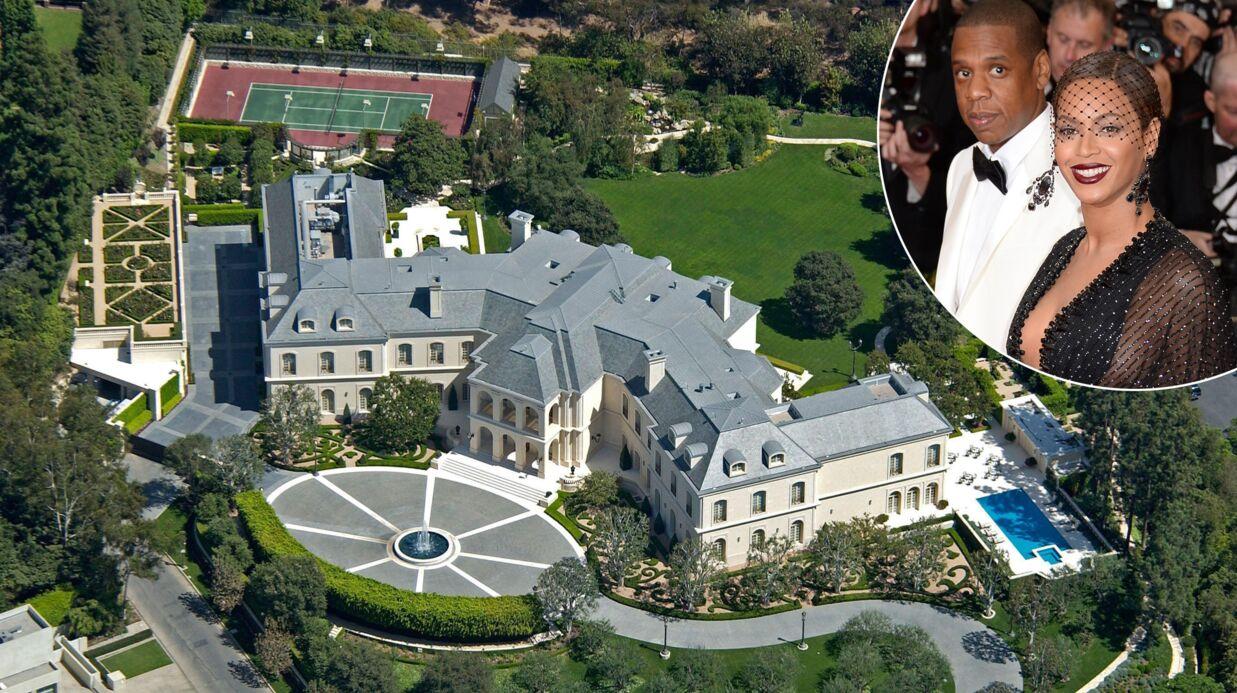 PHOTOS Jay Z et Beyoncé veulent s'offrir l'ENORME demeure d'Aaron Spelling